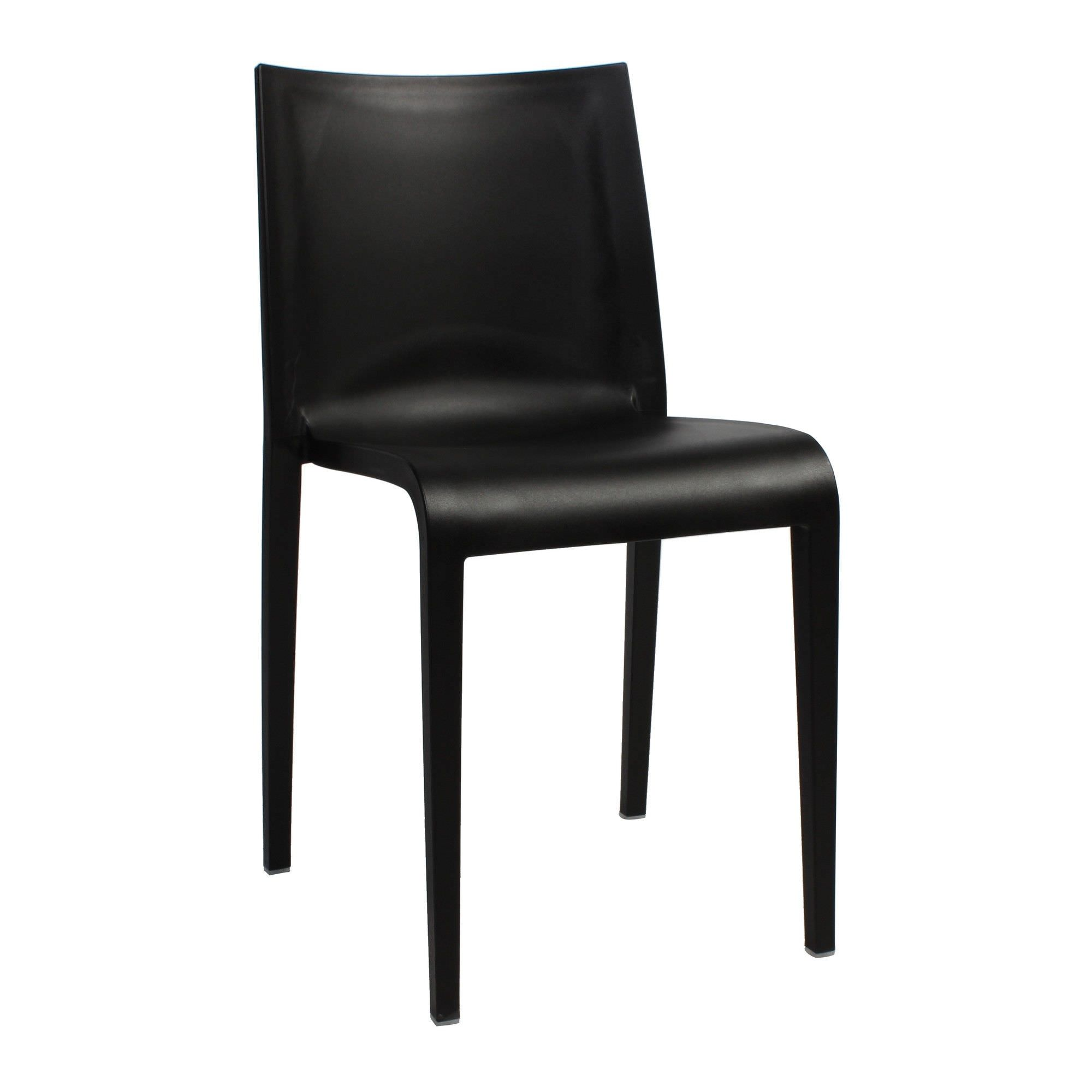 commercial outdoor dining furniture. Nassau Italian Made Commercial Grade Indoor/Outdoor Dining Chair, Black Outdoor Furniture T