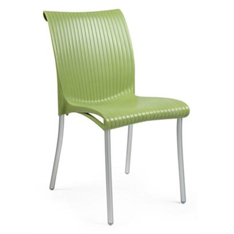 Verona Set of 2 Commercial Grade Side Chairs  - Sage Green