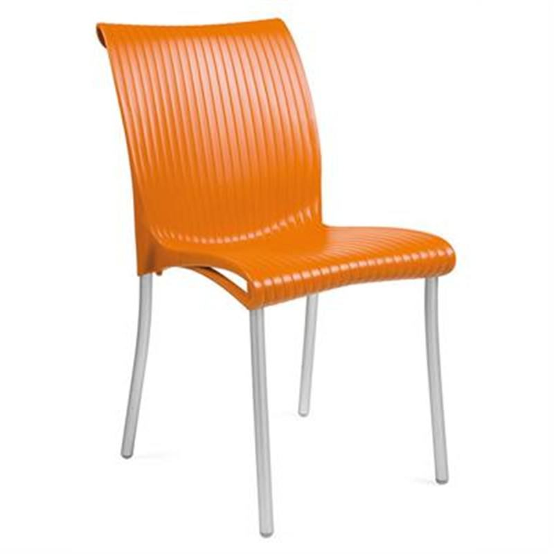 Verona Set of 2 Commercial Grade Side Chairs - Orange