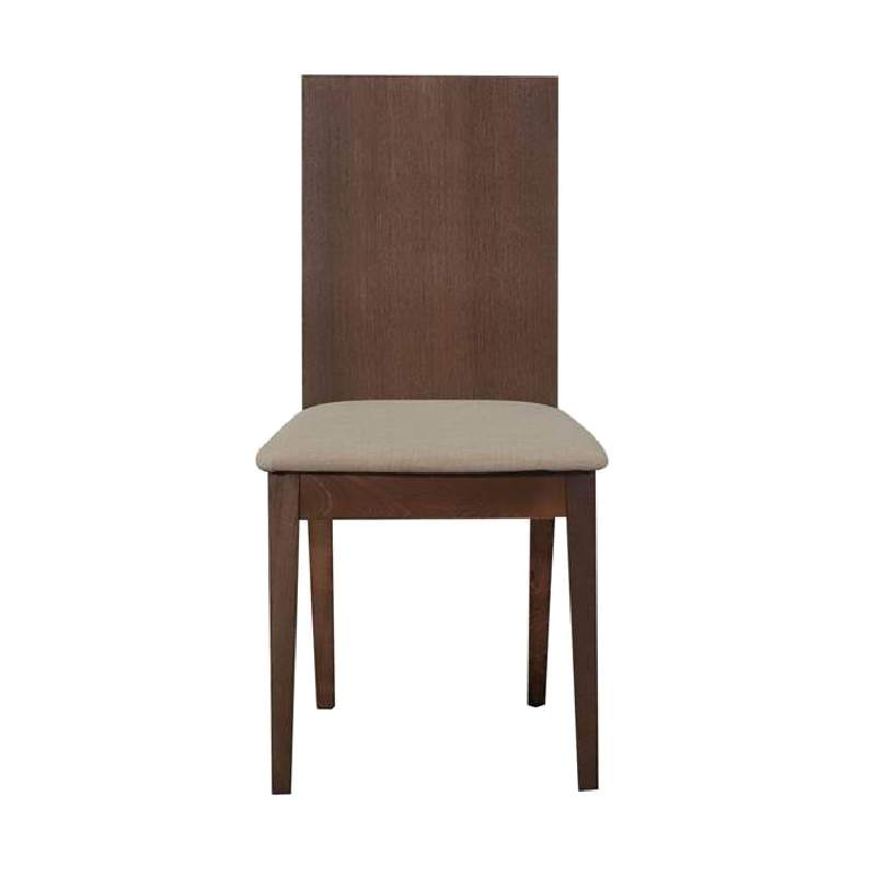 Hilton Beech Timber Dining Chair with Fabric Seat