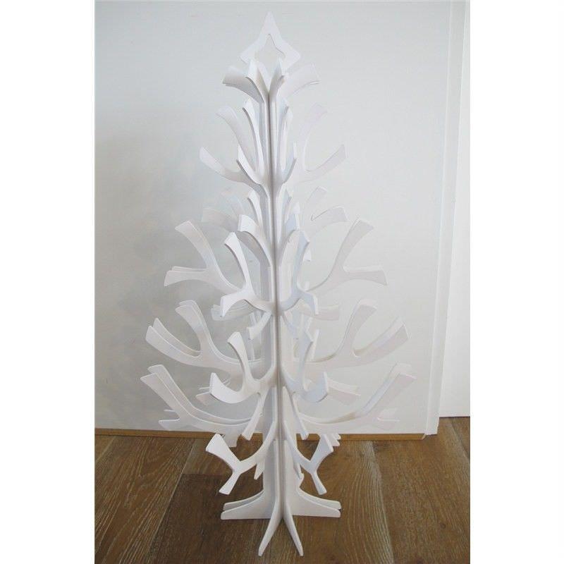 White Festive Tree Decor - 120cm