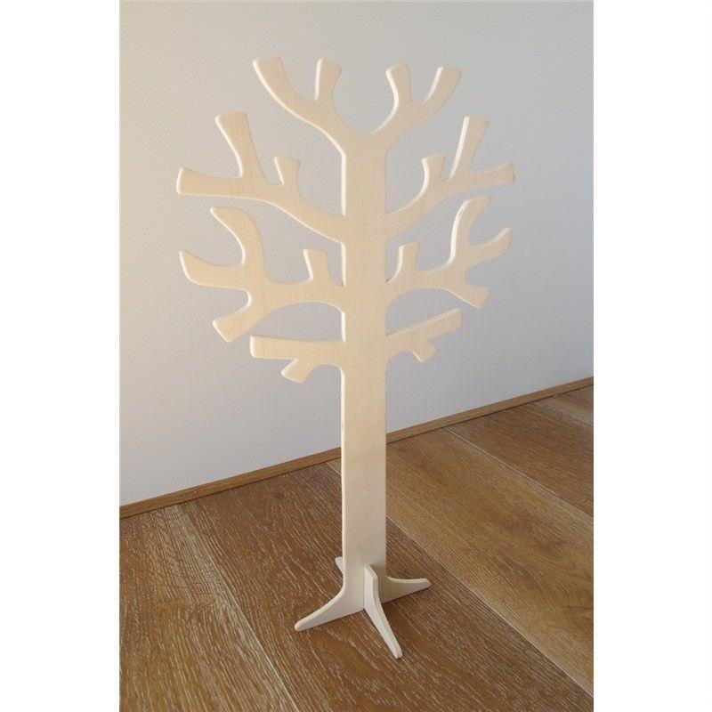 New Natural Plywood Tree Decor - 50cm