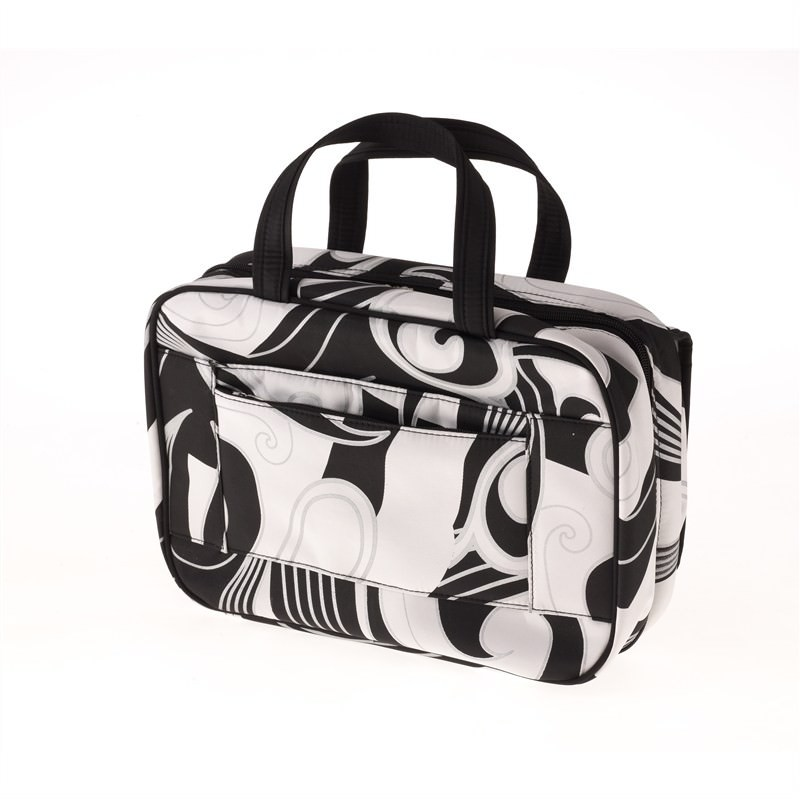 LRG. Cosmetic Case-Black Swirl