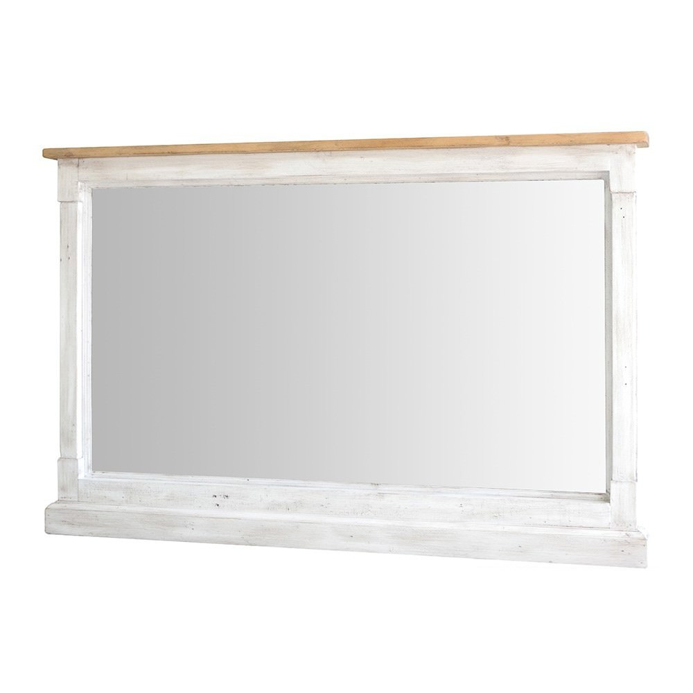 Cintra Reclaimed Timber Frame Wall Mirror, 150cm