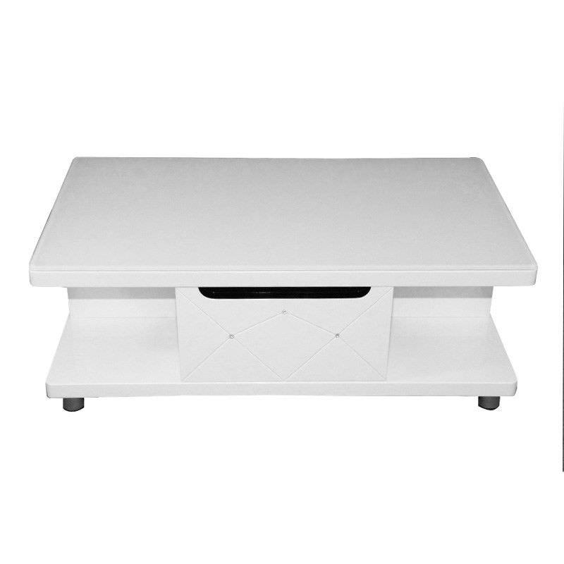 High Gloss White Coffee Table - 110cm
