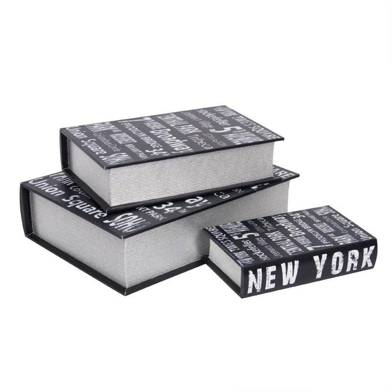 New York Metro Book Box - Set of 3