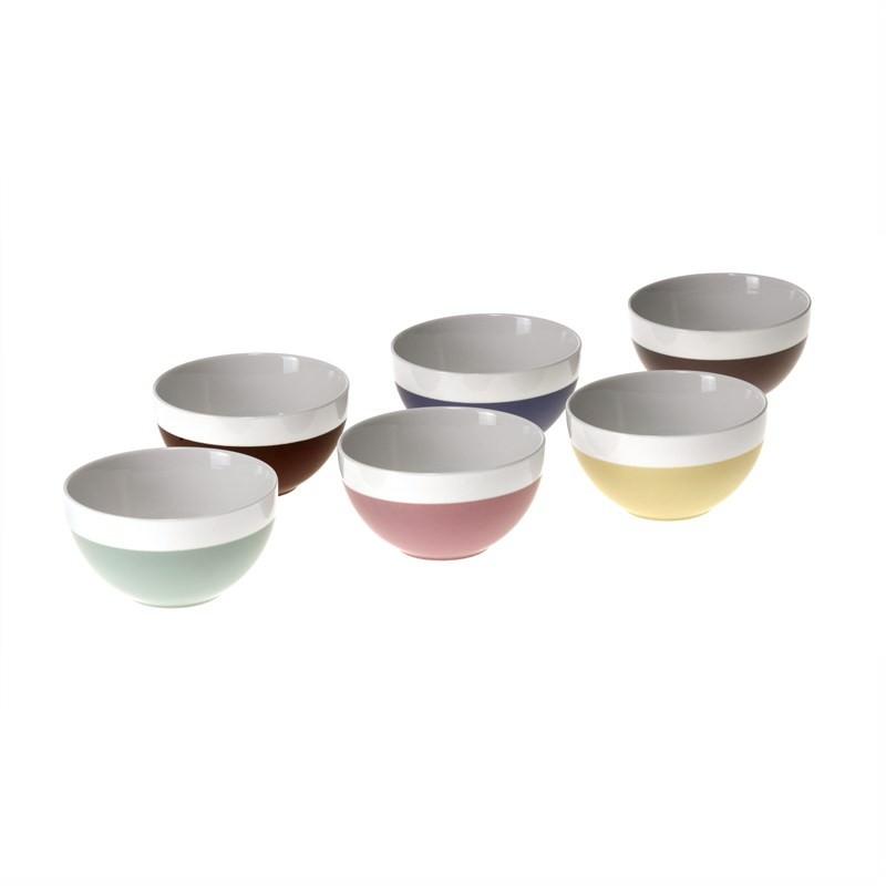 Gelato Range Bowls - Set of 6