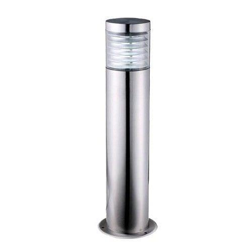 Elanora IP44 Stainless Steel Garden Bollard Light, Small, Silver