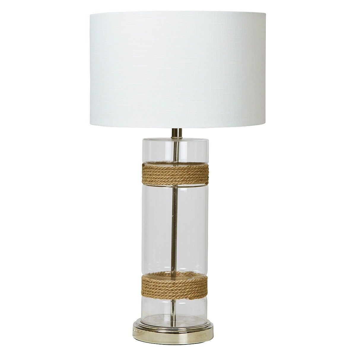 Chesterton Glass Base Table Lamp