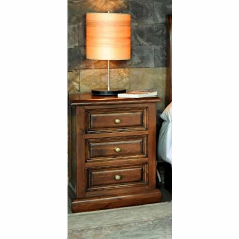Cordoba Solid Oak Timber Bedside Table
