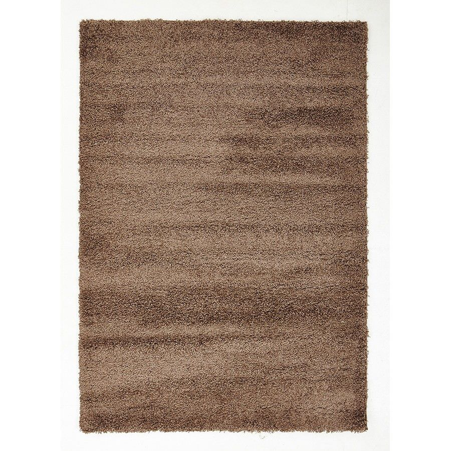 Cosmo Kensington Soft Dense Shag Rug, 330x240cm, Brown