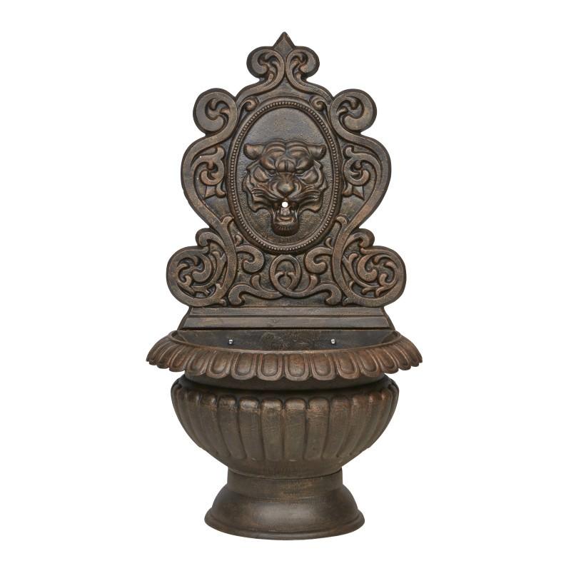 Anderson Cast Iron Garden Wall Fountain