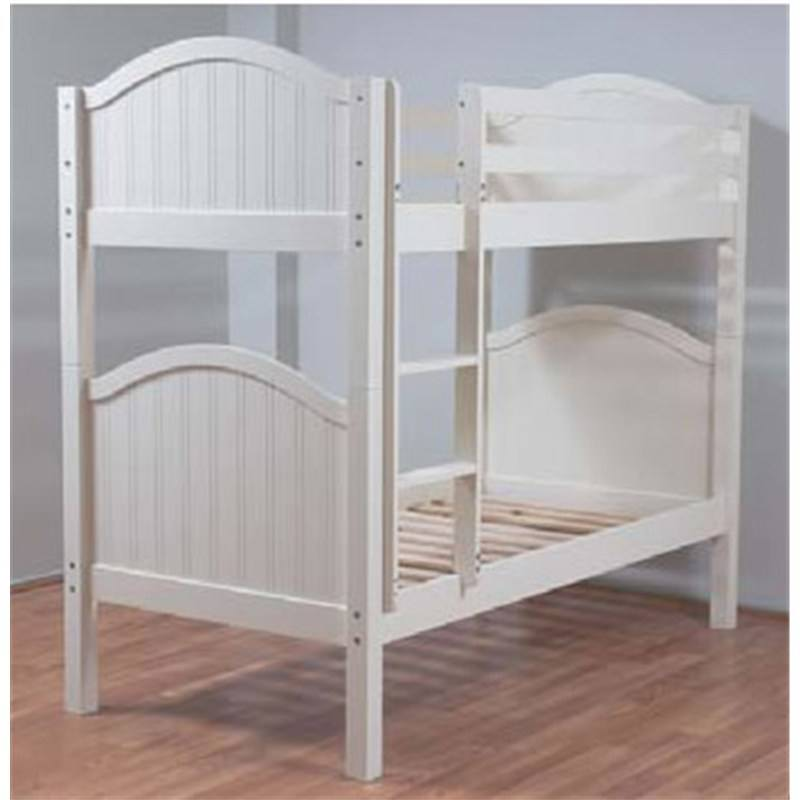 Crest Bunk Bed Single In White
