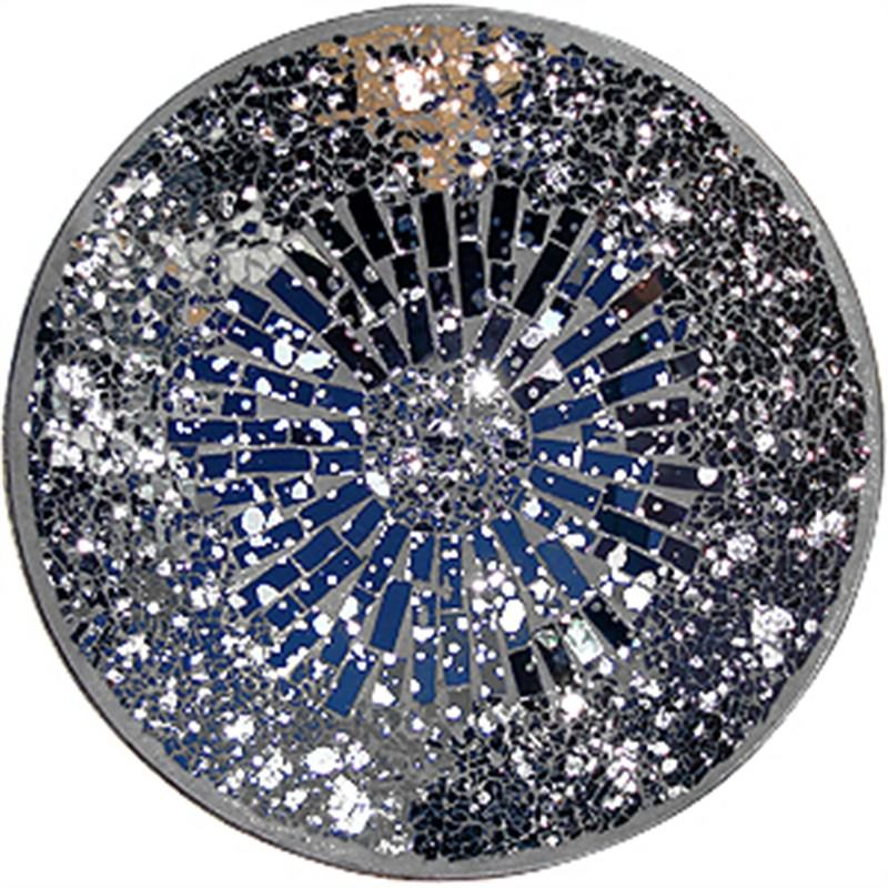 Mosaic Decoration  Round Plate