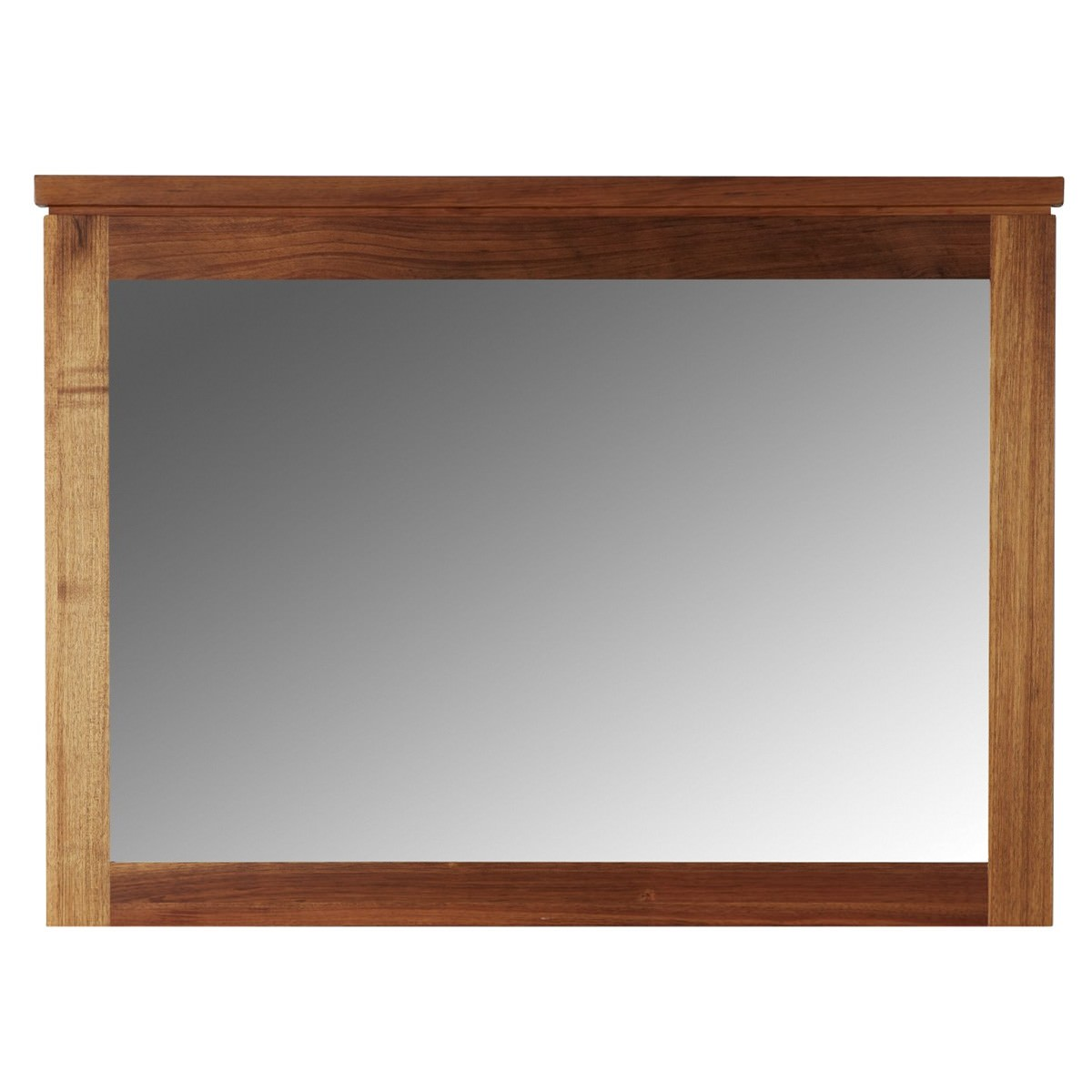 Clifton Blackwood Timber Frame Dressing Mirror, 110cm