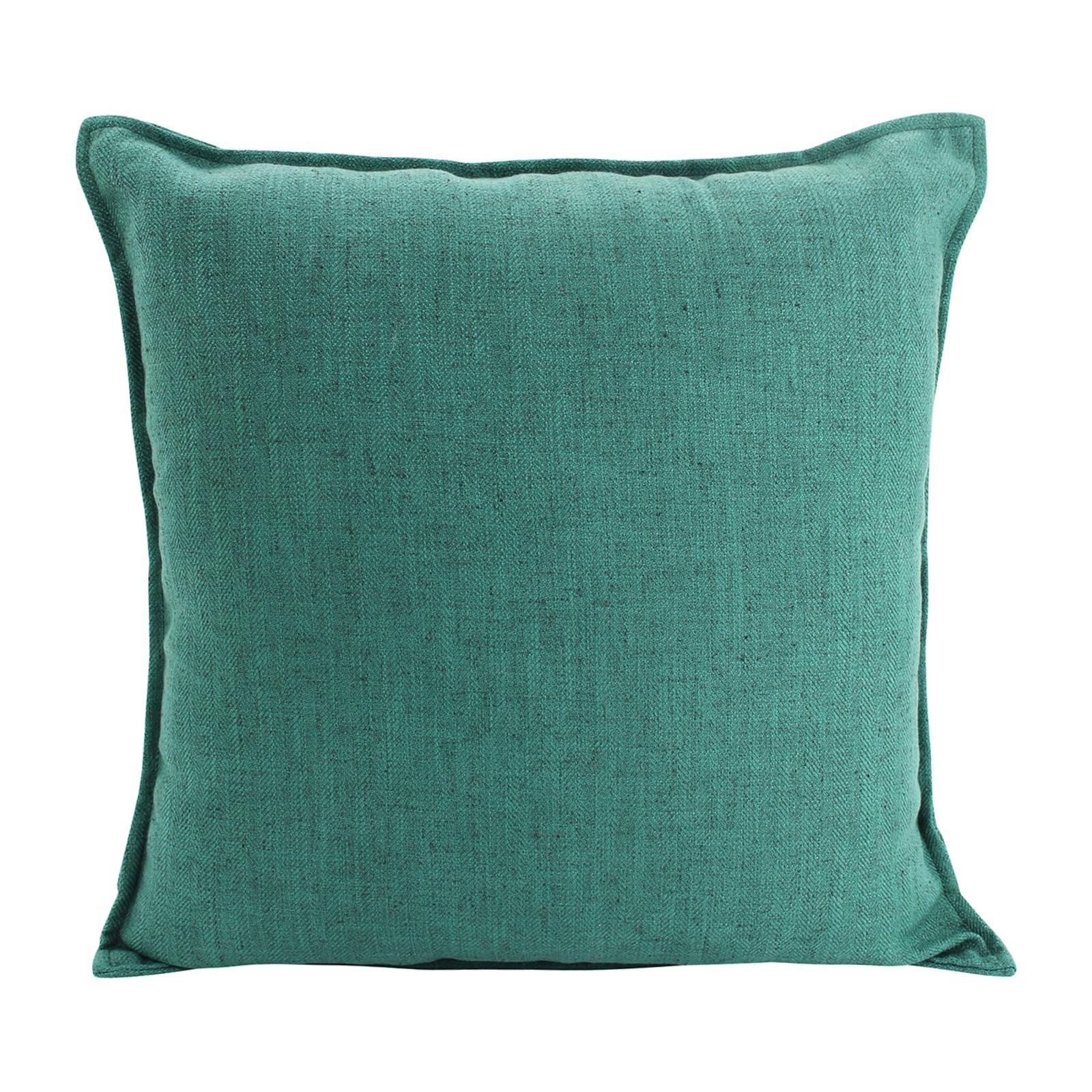 Farra Linen Scatter Cushion, Green