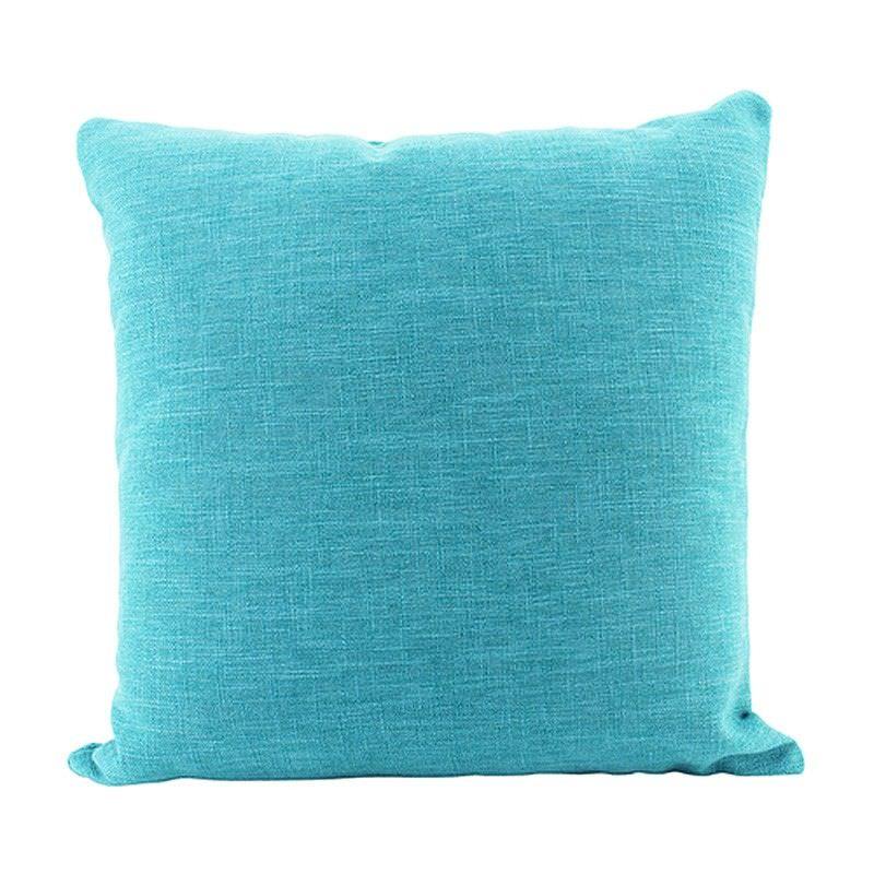 Aria Euro Cushion, Turquoise