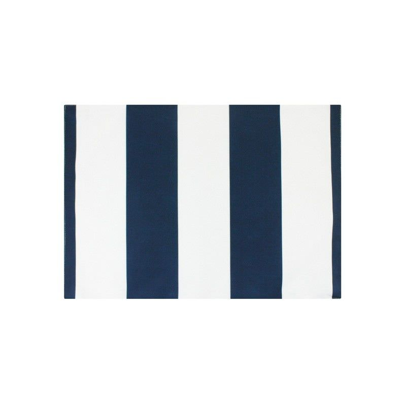 Set of 2 Minell Stripe Indoor / Outdoor Fabric Placemats, Navy