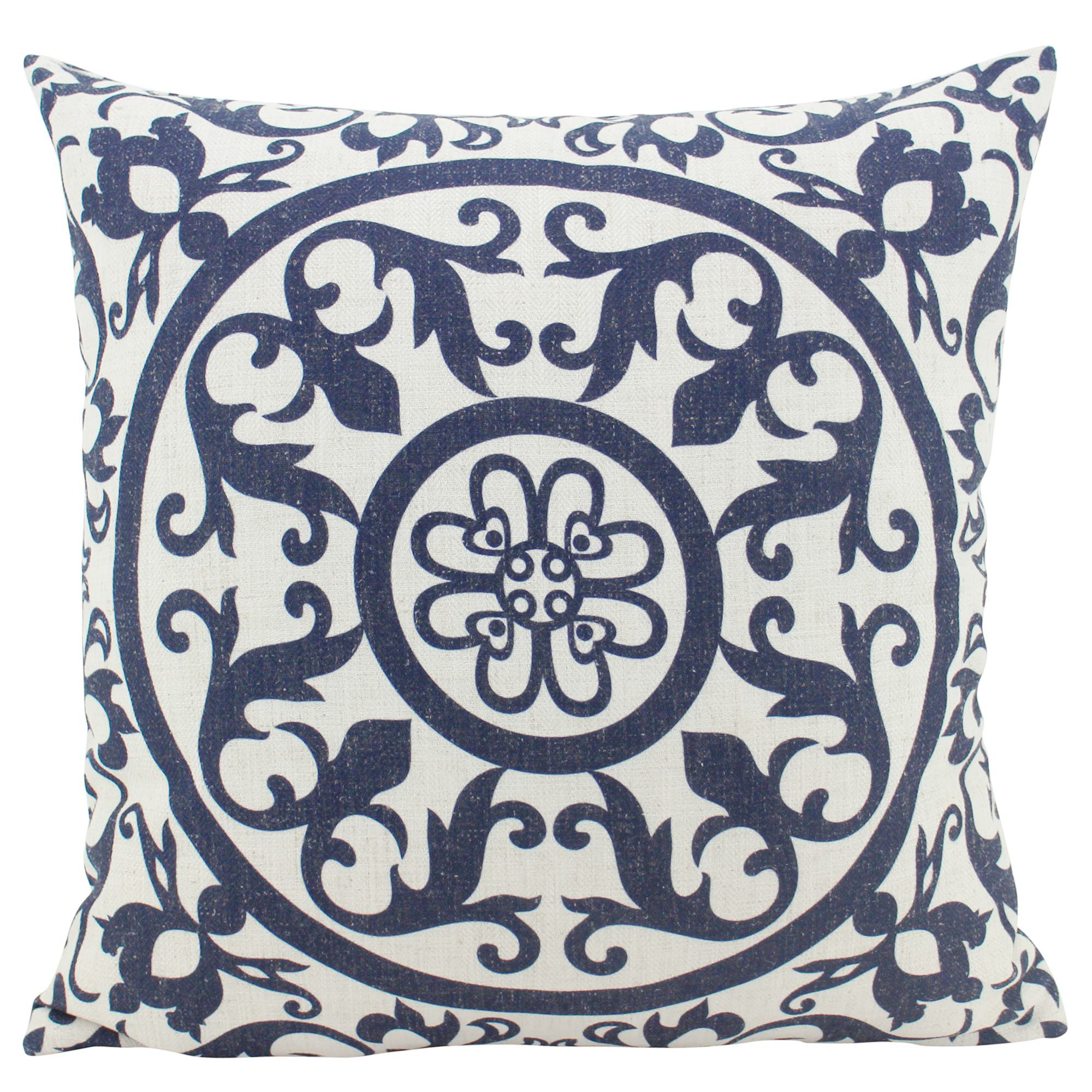 Hamptons Linen Scatter Cushion, Navy