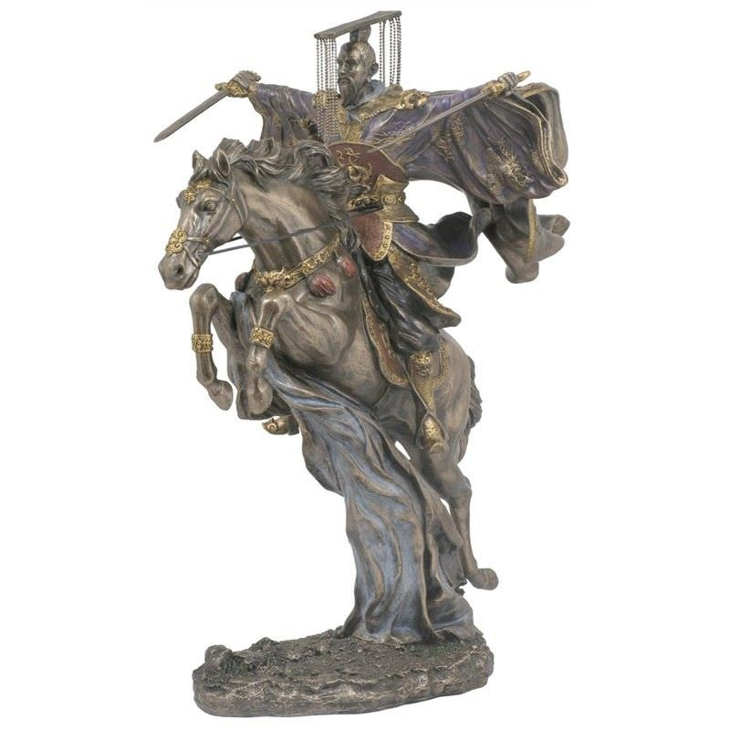 Cast Bronze Three Kingdom Legend Figurine, Liu Bei