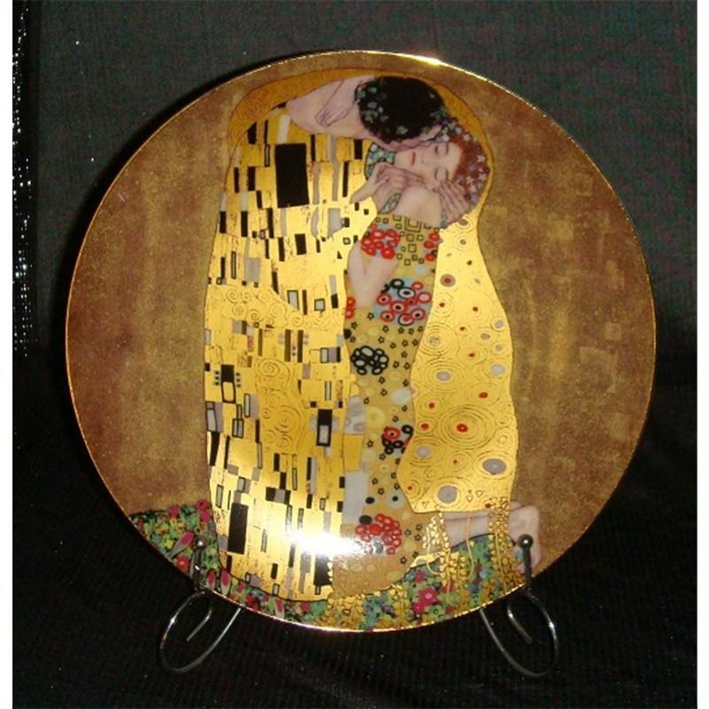 The Kiss Round Plate
