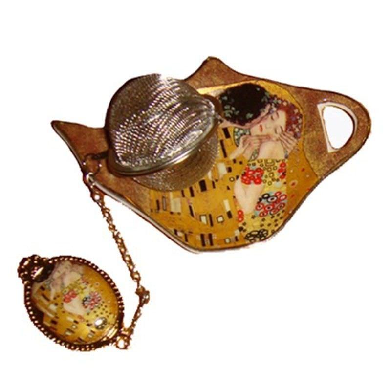 The Kiss tea strainer-bag holder