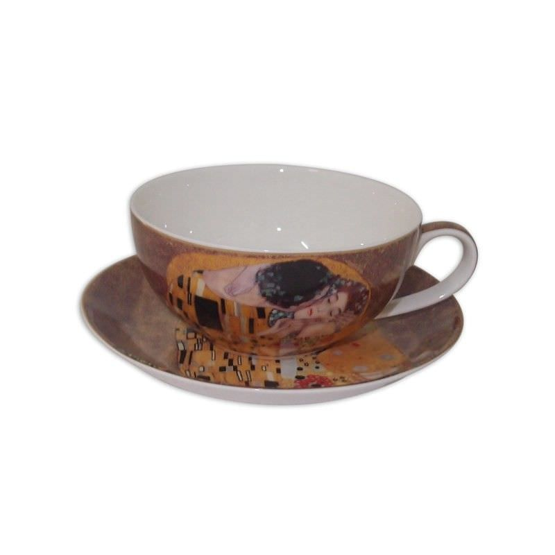The Kiss cup and saucer set