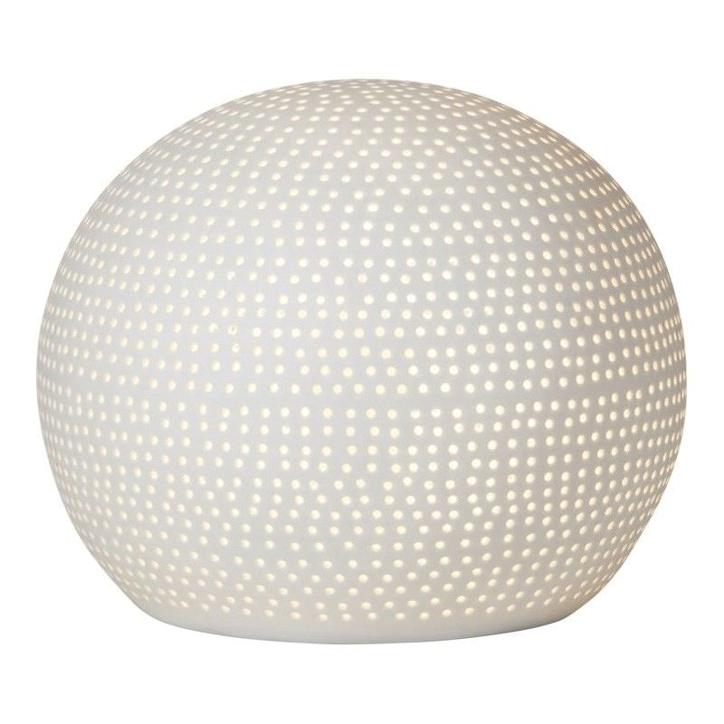 Zadie Hand Made Porcelain Table Lamp, Dome