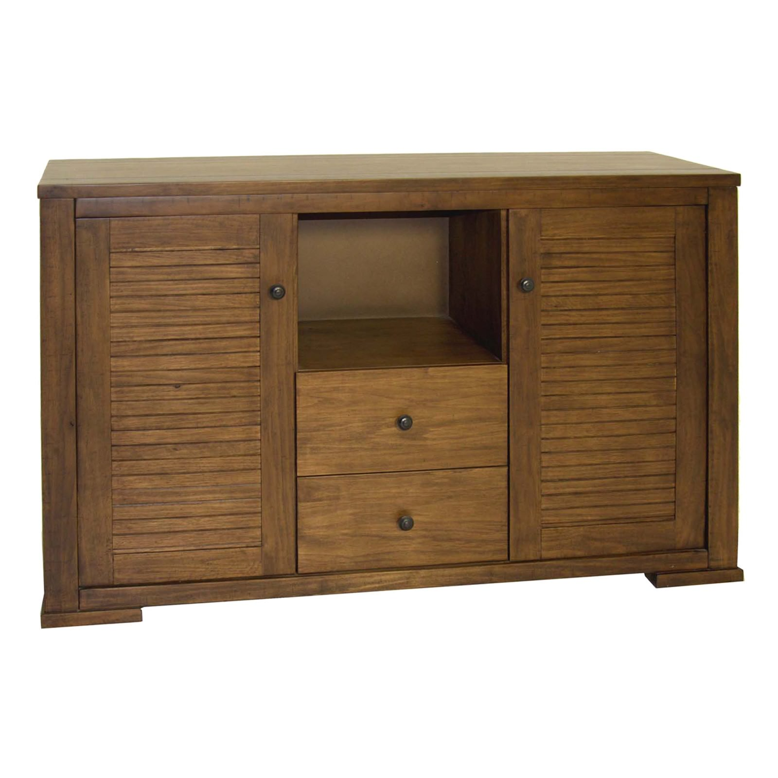 Huesca Mountain Ash Timber 2 Door 2 Drawer Buffet Table, 149cm