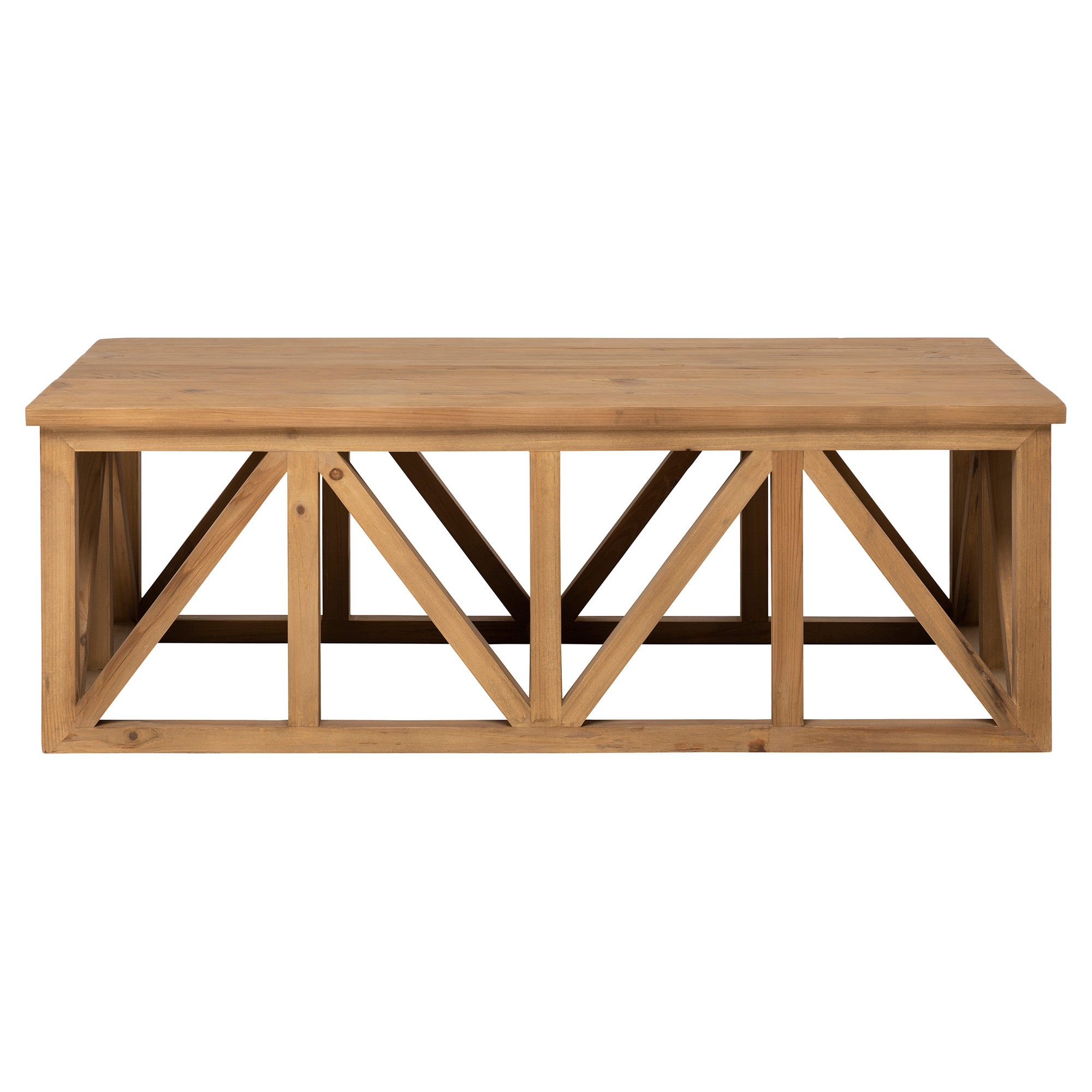 Avignon Teak Timber Coffee Table, 120cm