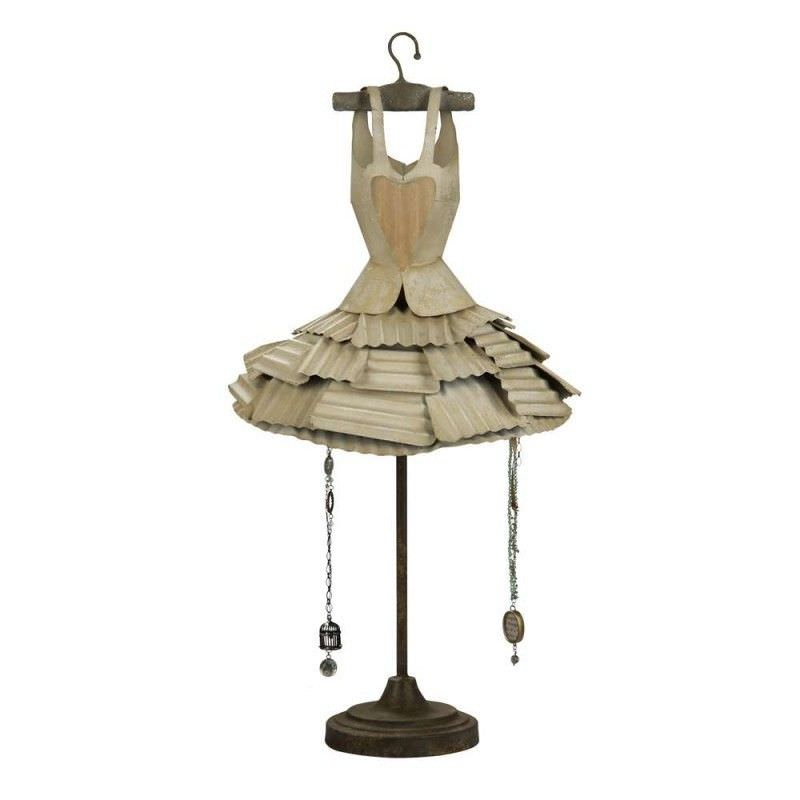 French Provincial Stunning Dress Metal Jewellery Holder - 84cm