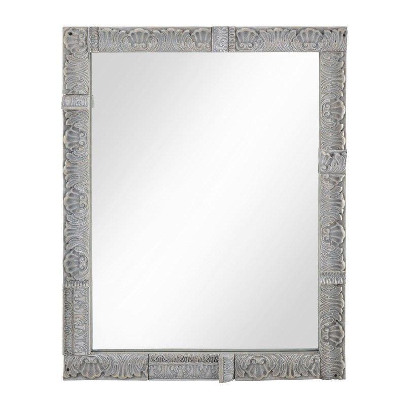 Kinzy Moulding Wood Framed 92 cm Wall Mirror