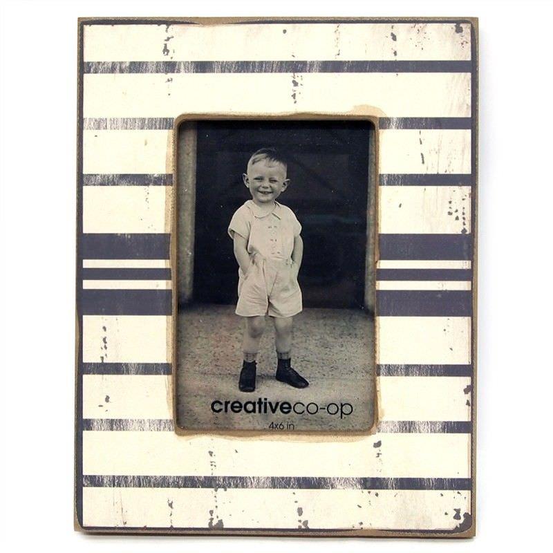 4x6 Inch Slim Stripes Photo Frame