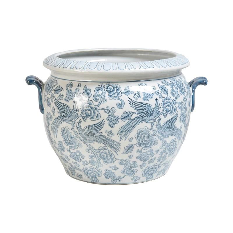 Aviary Ceramic Pot
