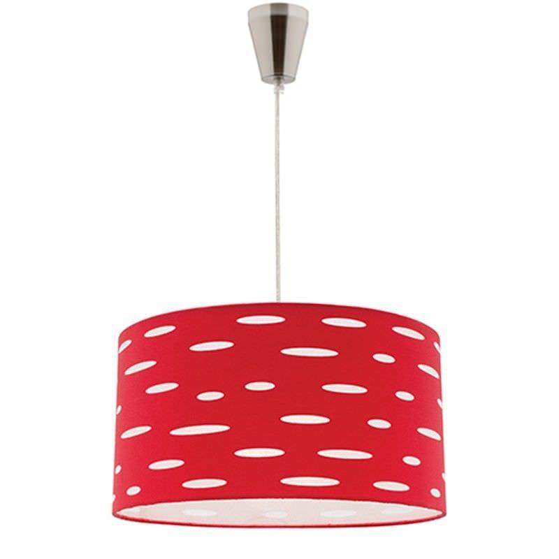 Darcy DIY Pendant Light - Red
