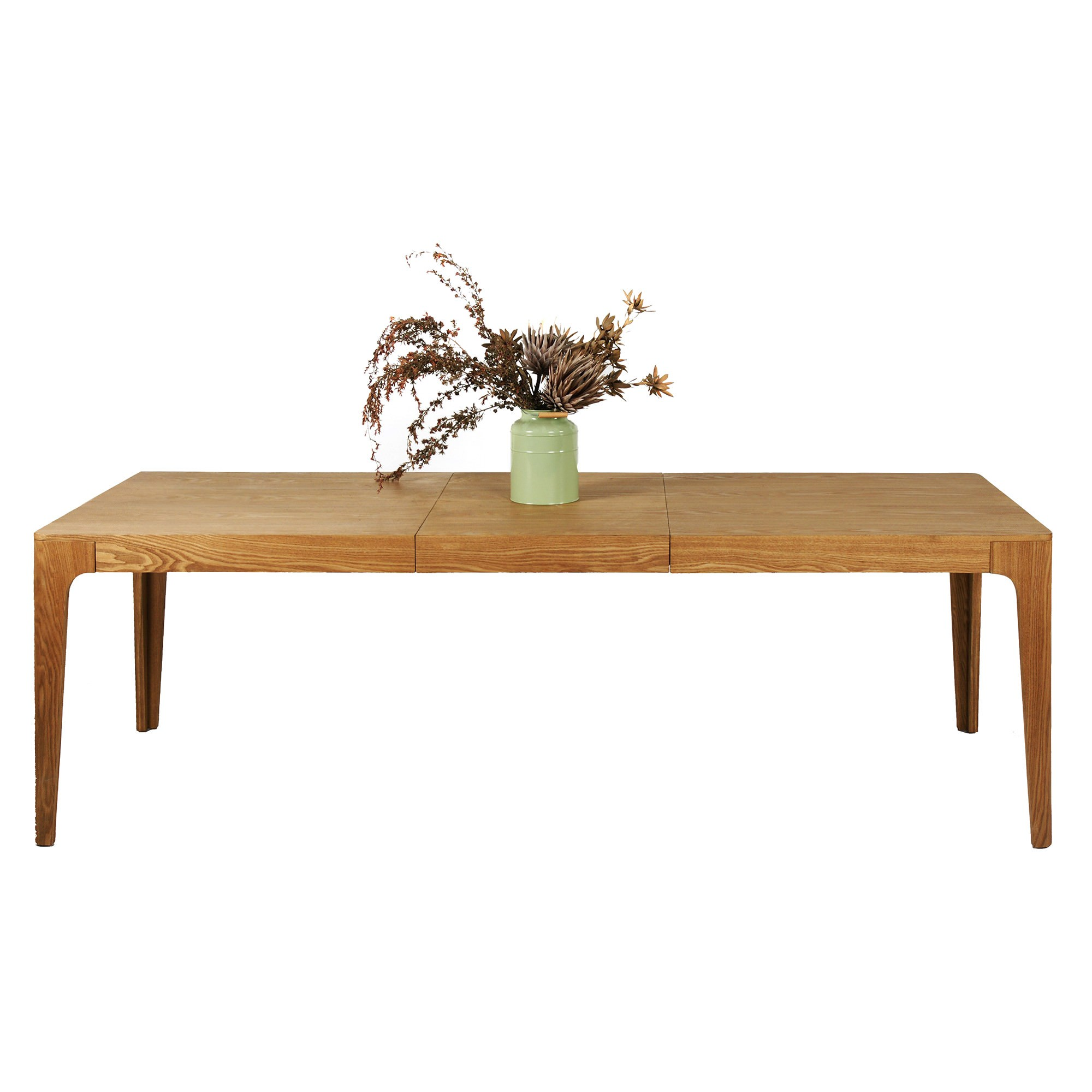 Dario Timber Extendable Dining Table, 180-240cm