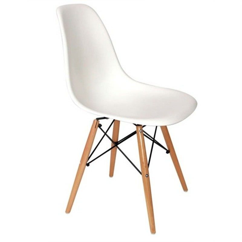 Replica Eames DSW Chair - White