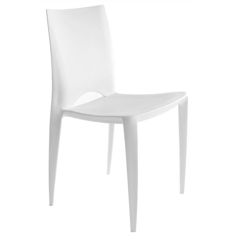 Replica Bellini Indoor/Outdoor Dining Chair, White