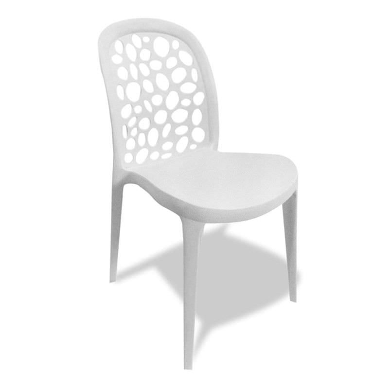 Moon Injection Moulded Thermoplastic Cafe Chair