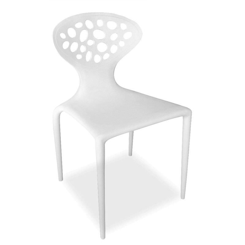 Replica Ross Lovegrove Thermoplastic Supernatural Dining Chair - White