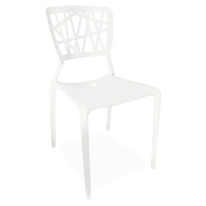 Replica Viento Stackable Cafe Chair - White