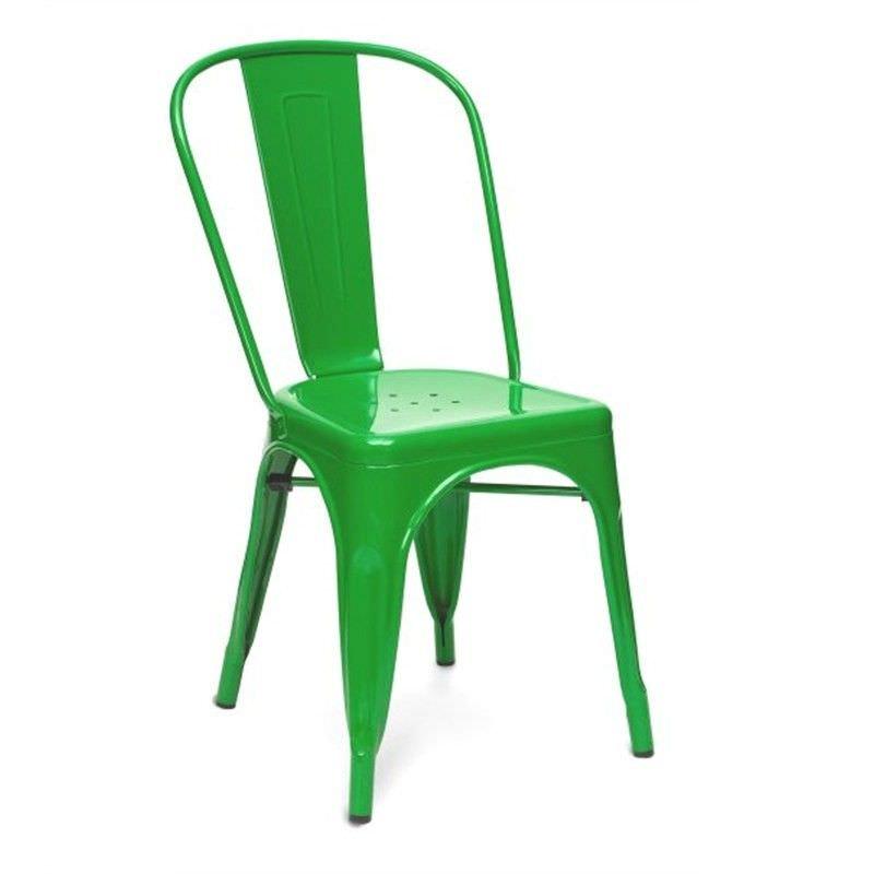 Commercial Grade Replica Xavier Pauchard Tolix Chair - Green