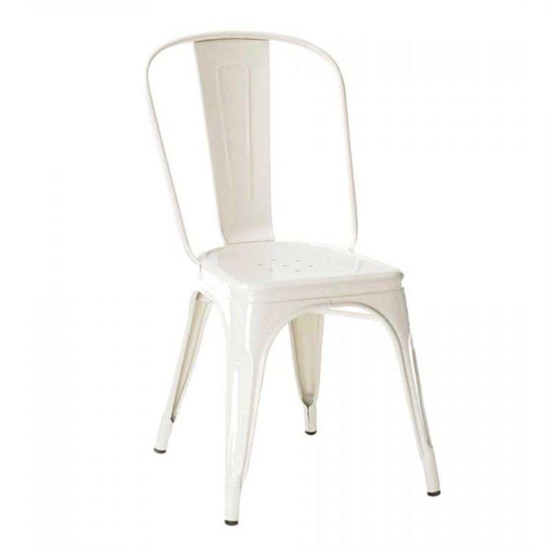 Commercial Grade Replica Xavier Pauchard Tolix Chair - White