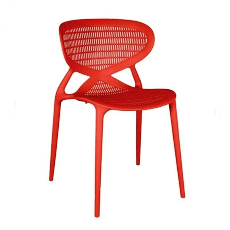 Replica Cloudio Angel Style Chair - Red