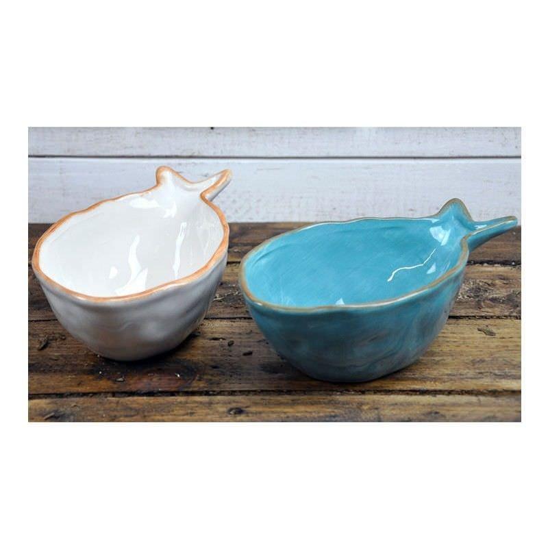 Set of 2 Rotherhithe Dolomite Fish Bowls
