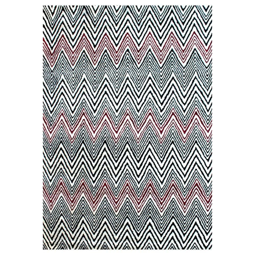 Petford Handwoven Modern Wool Rug, 280x190cm