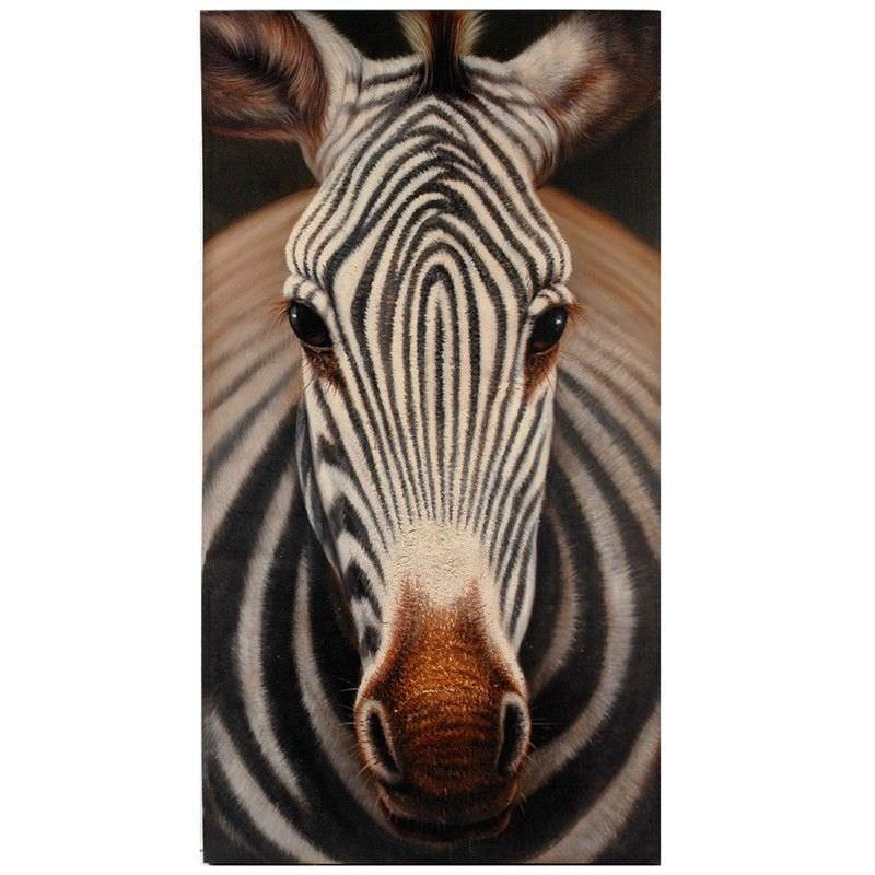 Large Zebra Wall Art
