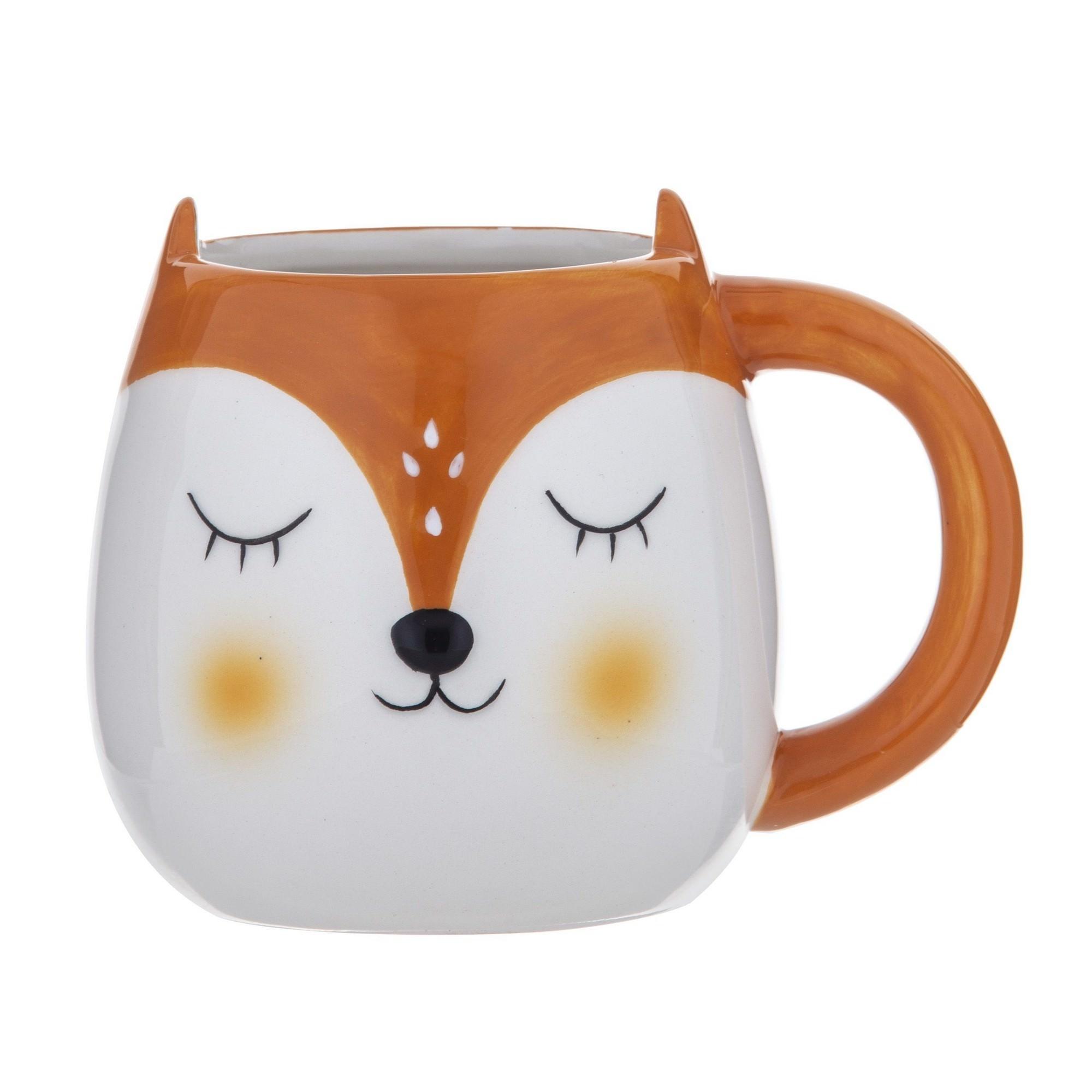 Sunnyhills Dolomite Mug, Fox