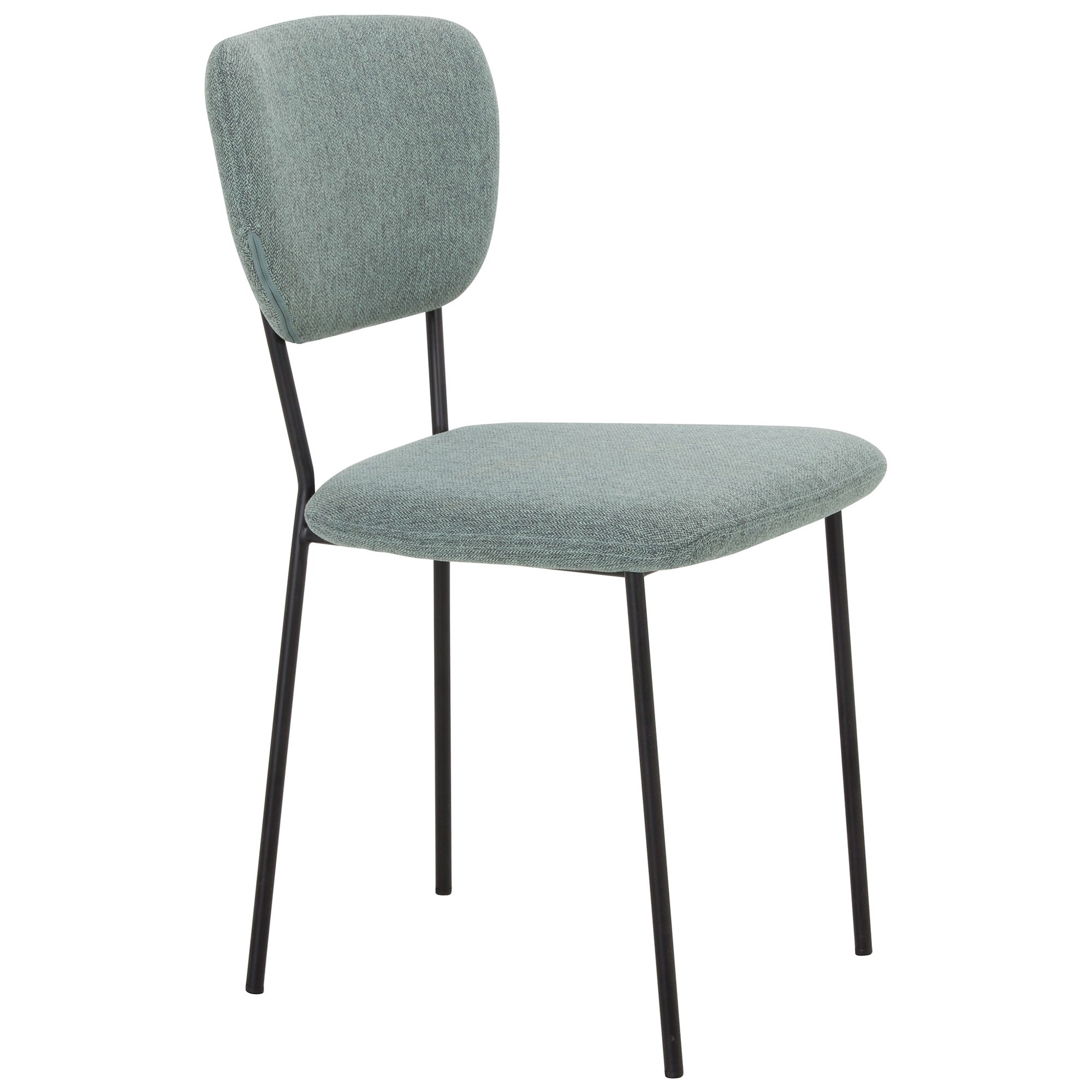 Kelby Fabric & Metal Dining Chair