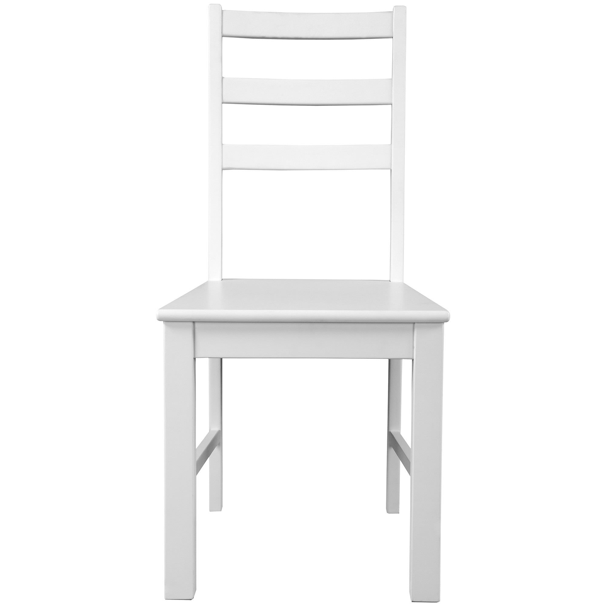 Oxford Timber Dining Chair, White